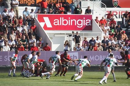 Rugby Club Toulonnaiset Albingia, un partenariat renouvelé.