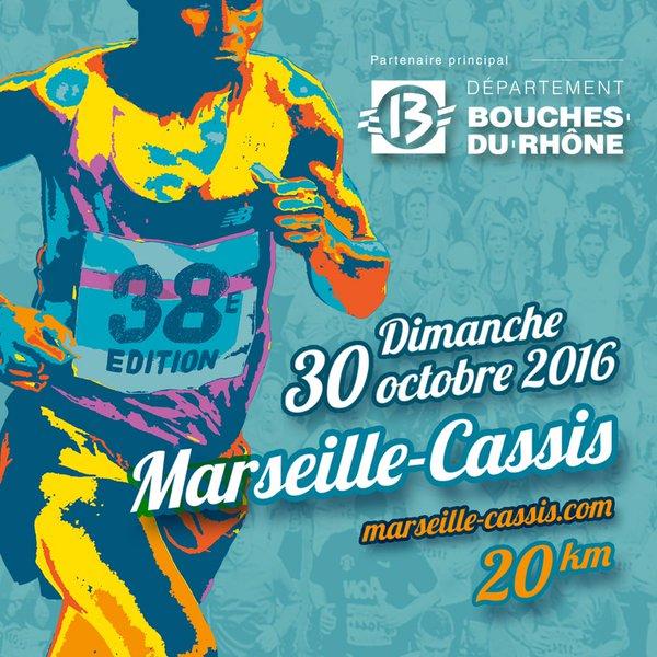 Course Marseille-Cassis : Bon courage à tous nos coureurs