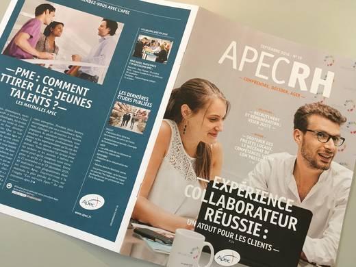 Albingia a été interviewée par le magazine Apec RH pour un article dédié à la transmission des savoirs faire et des savoirs être.