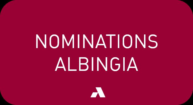 Albingia annonce des nominations